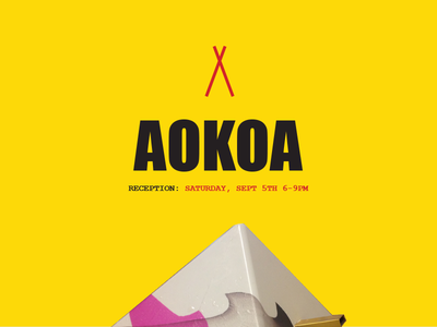 AOKOA art show los angeles campground rv koa logo contemporary art