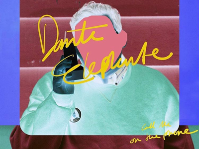 Dante Elephante album cover detail from a few months back