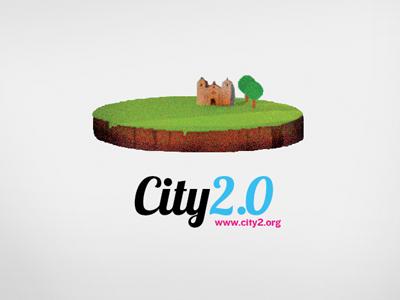 City2.0 city2.0 santa barbara logo identity