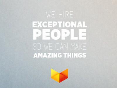 Exceptional People | Vox Media typography branding texture vox logo verge design gotham mossy