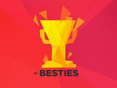 New Besties Logo besties polygon vox logo