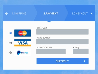 Credit Card Checkout UI ui credit card checkout ux design daily ui challenge daily ui