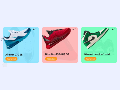 Product Cards - Ecommerce Cards Prototype concept priciple design clean shoe prototype cards ecommerce