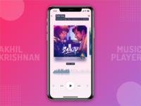 Music Player Redesign Challenge
