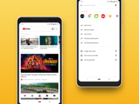 YouTube App Redesign Concept