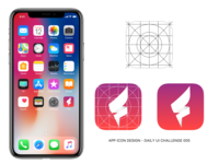 Dail UI Challenge 005 - App Icon Design