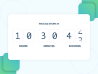 Daily UI Challenge #014 - Countdown Timer