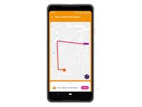 Daily UI Challenge 020- Location Tracker