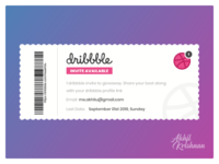 1 dribbble invite available for giveaway