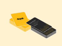Dribbble Weekly Warm-Up - Business Card for a Super Hero