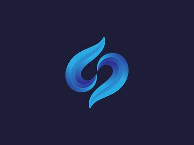 Abstract Letter 'S' Logo Design | Modern s letter vector logo vector gradient logo s logo modern logo initial logo brand design logo concept creative logo letter logo letter s abstract letter logo