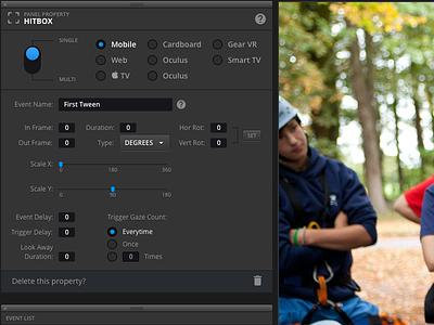 Cinematic Editing Tools cinema editing tools ui design sketch