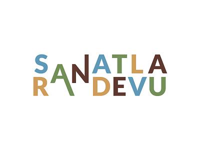 Sanatla Randevu Logo art logo