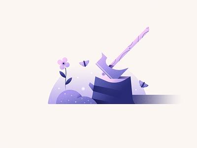 Axe weapon axe illustration vector