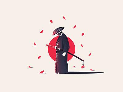 Ghost of Tsushima sword ghost of tsushima ps4 videogame illustration vector