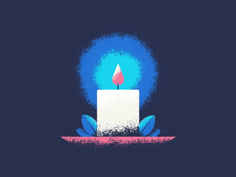 Candle candle gritty texture vector