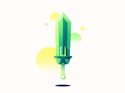Sword gradients sword vector