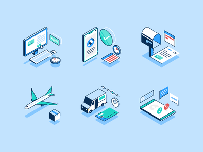 Length to Get a Credit Card finances credit card isometric illustration vector