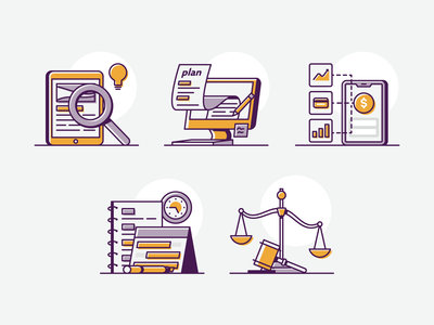 Side Hustle taxes finanaces business plan research schedule steps side hustle illustration vector
