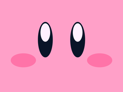 Kirby | Day 29 minimal kirby nintendo classic videogame gaming illustration vector