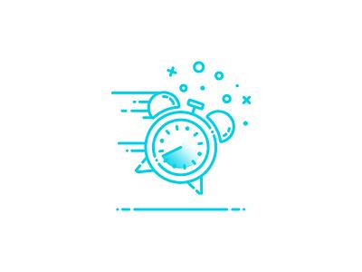 Go Go Go! fast af go go go icon time clock illustrator illustration vector