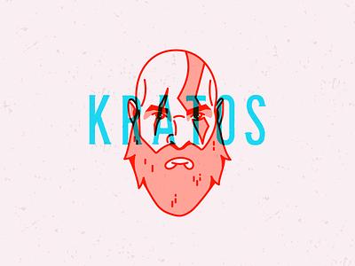 Kratos ps4 kratos god of war illustrator illustration vector