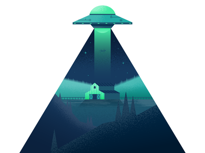 UFO alien ufo illustrator illustration vector