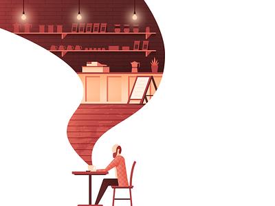 Coffee House coffee house coffee illustrator illustration vector