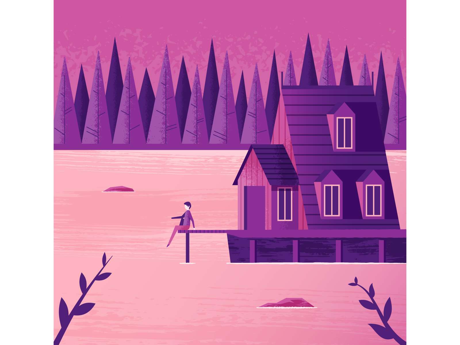 Sprintthree lakecabin dribbble