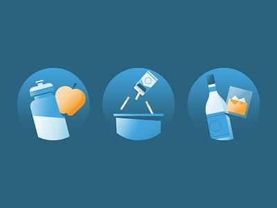 Lifestyle Change health lifestyle illustrator illustration vector