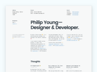 Landing Page - Philip Young
