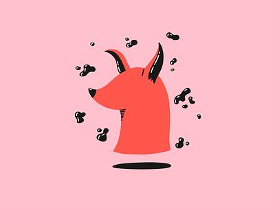 Dog ipad pink procreate character design character character illustration dog illustration