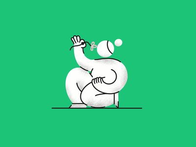 Spring 🌸 flower spring character ipad pro procreate illustrator character design illustration