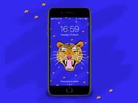 Tiger - Phone wallpaper 🐯
