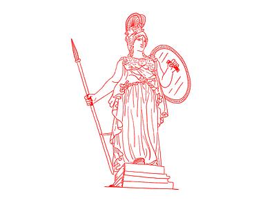 MMXIX part III woman fearless greek god goddesses greek character design illustration