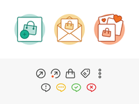 Onboarding / Universal Actions Icons