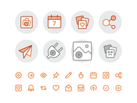 Feature and empty state Icons