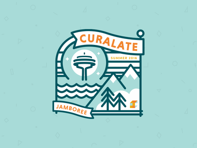 Jamboree 2 illustration iconography teamwork seattle retreat jamboree curalate