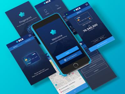 BCA Bank Mobile App Redesign Concept