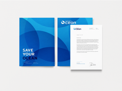 Save Your Ocean brand design freelance designer mark graphic logo symbol icon design idenity branding brand