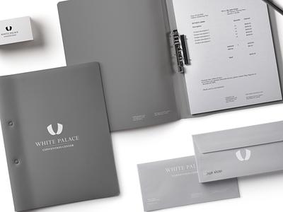 White Palace logo concept concept redesign center simple brand design branding mark identity graphic logo brand symbol icon design