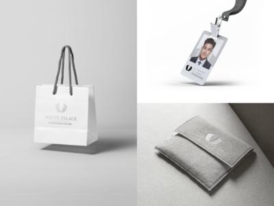 White Palace logo concept branding mark identity graphic logo brand symbol icon design concept redesign
