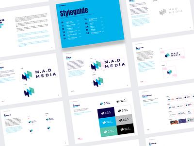 Mad Media - Brand Design brand identity brand design branding mark identity graphic logo brand symbol icon design