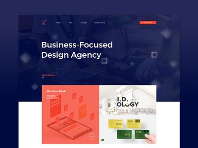 Next Good Things homepage tri tr hcmc agency ui ux website