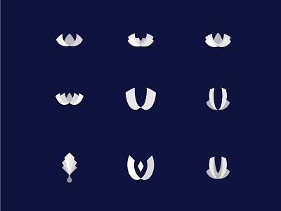 White Palace logo concept symbol simple luxury mark identity icon graphic designer freelance design brand logo