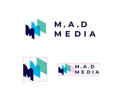 Mad Media - Brand Design agency branding graphic symbol mark icon identity design brand logo