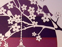 Blossom & Birds Papercut