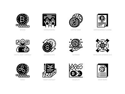Digital Asset icon design icon ripple digital token crytopcurrency bitcoin digital asset
