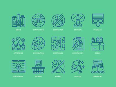 Business icon set business icon icon outline icon icon design