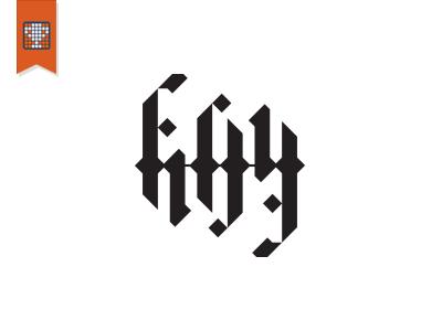 fifty/fifty (logo lounge 9) ambigram logo lounge brand mark fifty 50 book